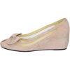 Angels Ballerinas WILLYS keilschuhe beige wildleder at318