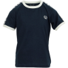 Fred Perry T-Shirt für Kinder Kids Taped Ringer T-Shirt ´´´´Carbon Blue´´´´