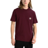 Carhartt T-Shirt POCKET T-BORDEAUX
