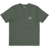 Carhartt T-Shirt POCKET T-VERDE