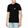 Carhartt T-Shirt POCKET T-SHIRT NERA