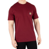 Carhartt Work In Progress T-Shirt Herren Taschen T-Shirt, Rot