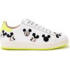 Moa Master Of Arts Sneaker Sneaker MoA Mickey Mouse in Leder und Fluo Gelb