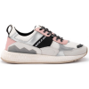Moa Master Of Arts Sneaker Sneaker MoA in Multimaterial Weiss und Rosa