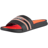 Superdry Zehensandalen Herren Crewe International Sliders, Schwarz