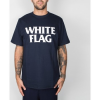 Carhartt Work In Progress Kurzarm Hemdbluse Carhartt WIP S/S White Flag T-Shirt - Navy / White