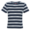 Superdry T-Shirt COTE STRIPE TEXT TEE
