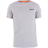 Superdry T-Shirt Herren Orange Label Vintages Logo-T-Shirt, Grau