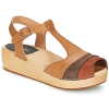 Swedish hasbeens Sandalen 90´S-T-STRAP-WEDGE