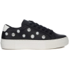 Moa Master Of Arts Sneaker MoA Mickey Mouse Sneakers in Leder mit Perlen