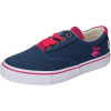 Beverly Hills Polo Club kinderschuhe POLO sneakers blau segeltuch pink fucsia AG349
