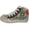Beverly Hills Polo Club Kinderschuhe POLO sneakers grün leder wildleder AG353