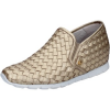 Botticelli Slip on BOTTICELLI slip on mokassins platin leder BZ89