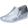 Botticelli Slip on BOTTICELLI slip on mokassins silber leder BZ90