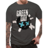 Cid T-Shirt Green Day - Crossed Skull