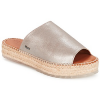 Shabbies Pantoffeln SHS0192 ESPADRILLE FLIP FLOP METALLIC LEATHER