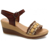 Oh Isabella Sandalen 1598 Mujer Marron