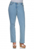 Große Größen: sheego Denim Gerade Stretch-Jeans, light blue denim, Gr.21-104